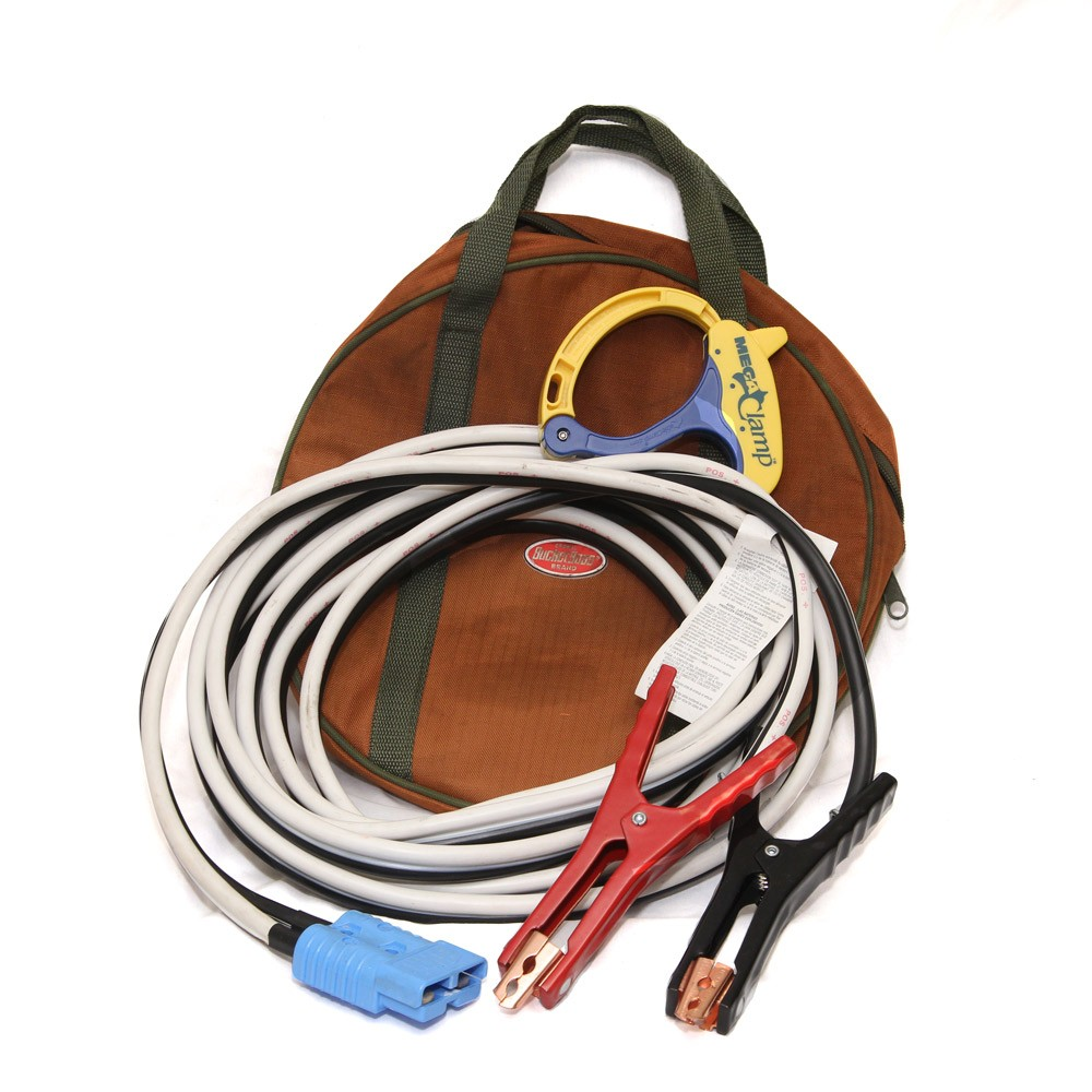 200 amp Jumping Cables with Adapter